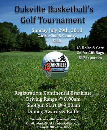 2018 OBC Charity Golf Tournament